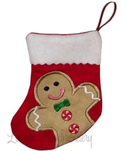 Gingerman Stocking (4.6 x 5.9-in)