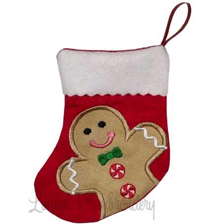 Gingerman Stocking (4.6 x 5.9-in)