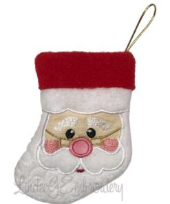 Santa Stocking (4.7 x 6-in)