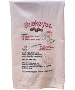 Buckeye Candy Recipe (7.2 x 11.2-in)