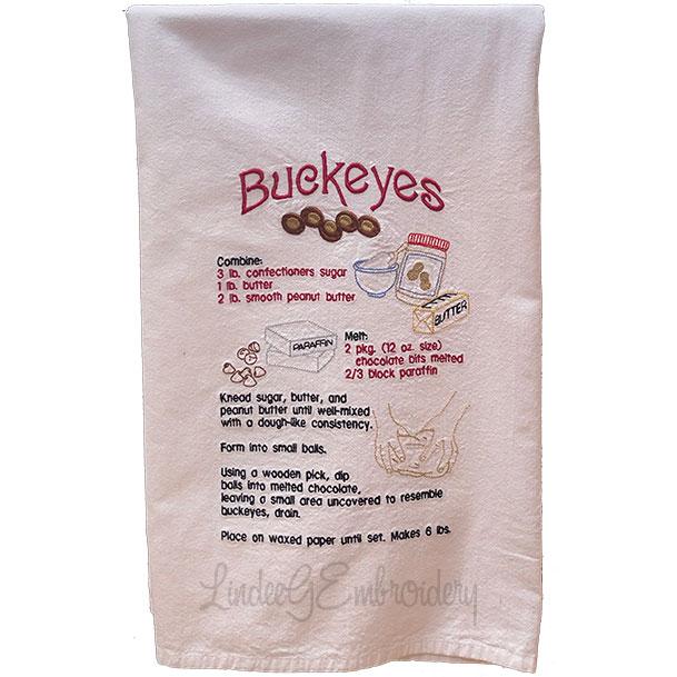 Buckeye Candy Recipe (7.2 x 11.2-in)