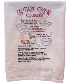 Lemon Crisp Cookies Recipe (7.6 x 11.5-in)