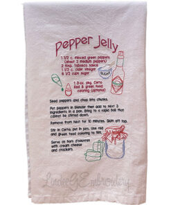 Pepper Jelly Recipe (7 x 11.3-in)