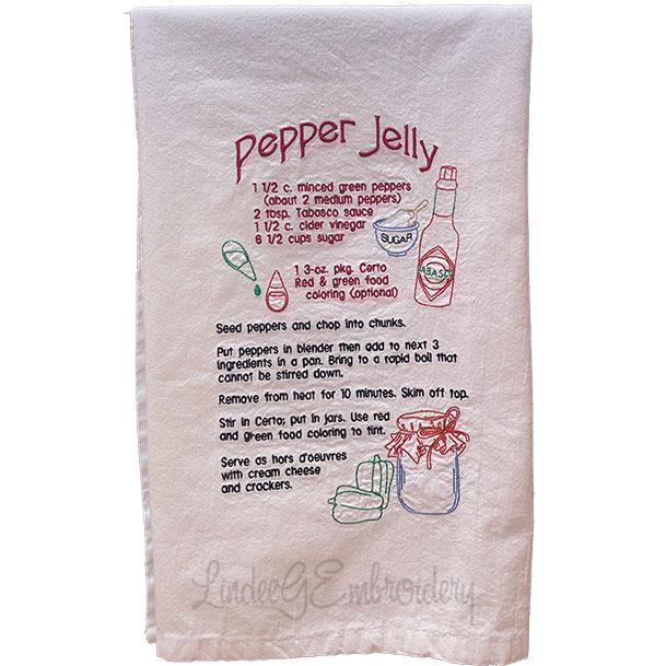 Pepper Jelly Recipe (7 x 11.3-in)