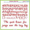 Giddyup 12mm ESA Font
