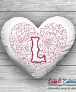 Sweetheart Monogram L - 4 sizes