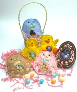 In-the-Hoop Easter Treat Keepers