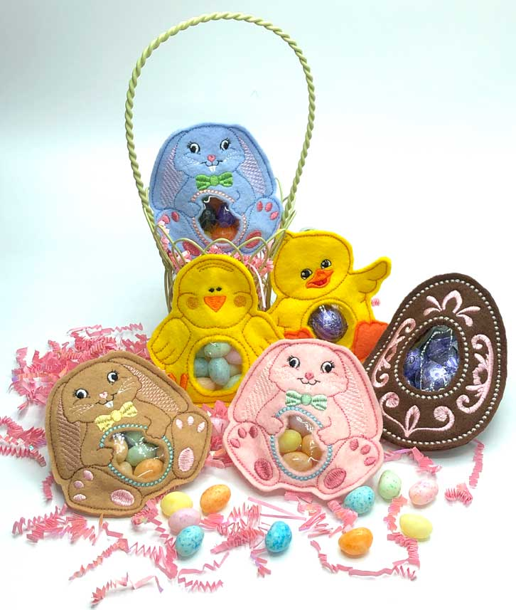In-the-Hoop Easter Treat Keepers