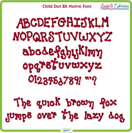 Child Dot BX Native Font