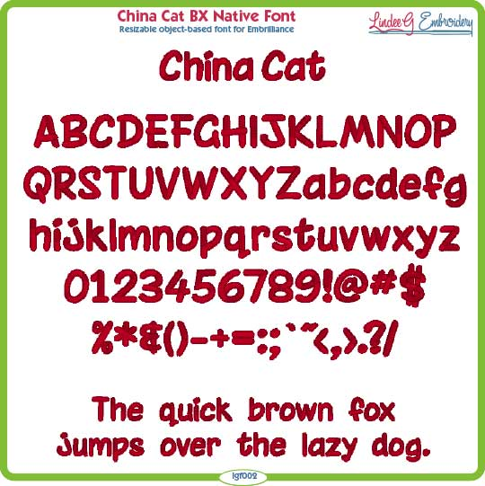 China Cat BX Native Font