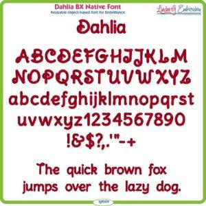 Dahlia BX Native Font