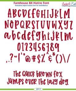 Farmhouse BX Native Font