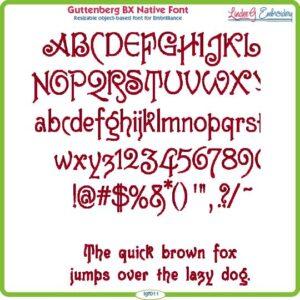 Guttenberg BX Native Font