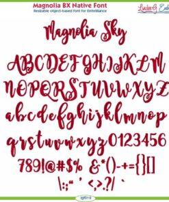 Magnolia Sky BX Native Font