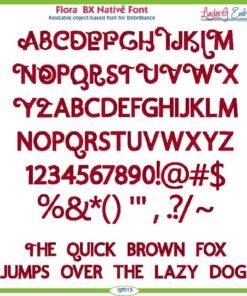 Flora BX Native Font