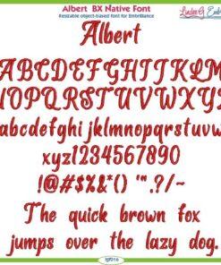 Albert BX Native Font