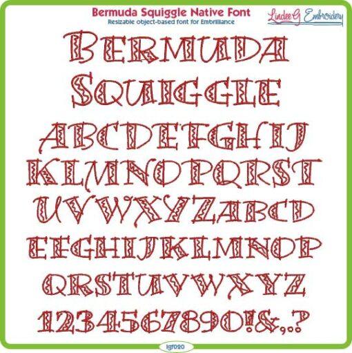 Bermuda Squiggle BX Native Font