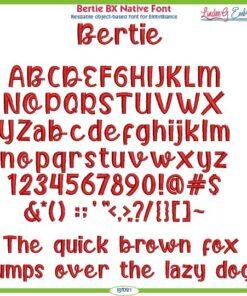 Bertie BX Native Font