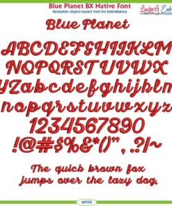 Blue Planet BX Native Font