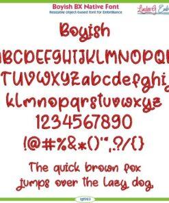 Boyish BX Native Font