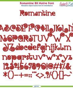 Romantine BX Native Font