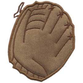 Applique Baseball Glove (3.1 x 3.7-in)