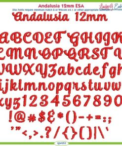 Andalusia 12mm ESA Font