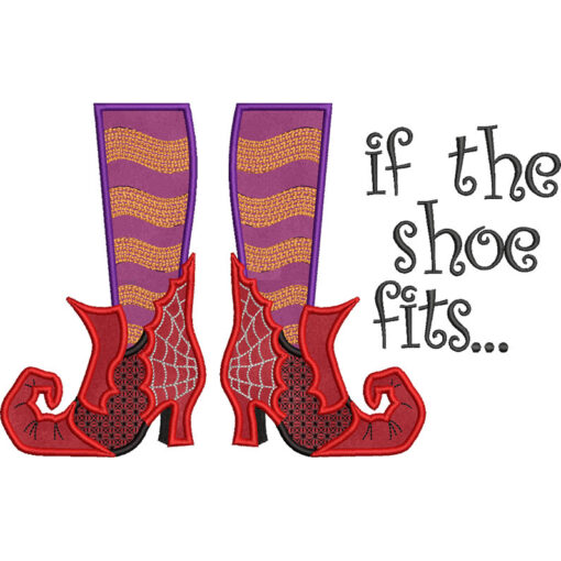 If the Shoe Fits (11 x 7-in)